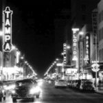 Franklin Street in 1950